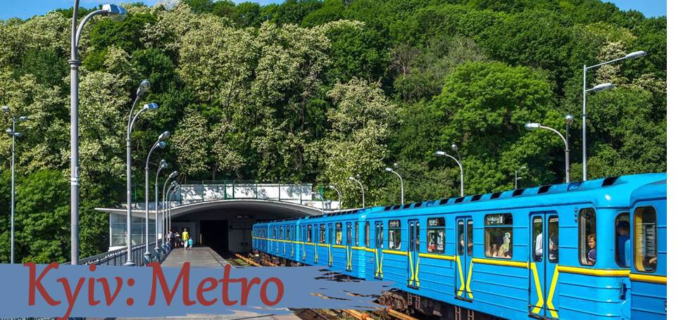 Kyiv in detail: METRO project